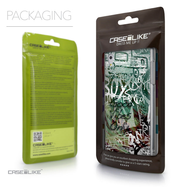 Packaging - CASEiLIKE Sony Xperia Z5 back cover Graffiti 2728