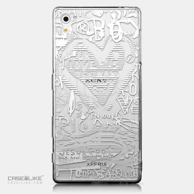 CASEiLIKE Sony Xperia Z5 back cover Graffiti 2730