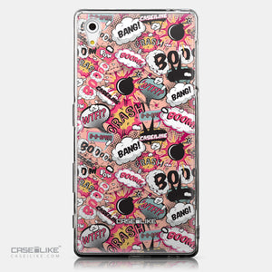 CASEiLIKE Sony Xperia Z5 back cover Comic Captions Pink 2912