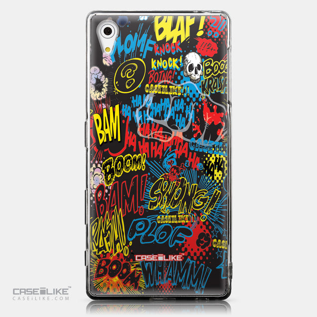CASEiLIKE Sony Xperia Z5 back cover Comic Captions Black 2915