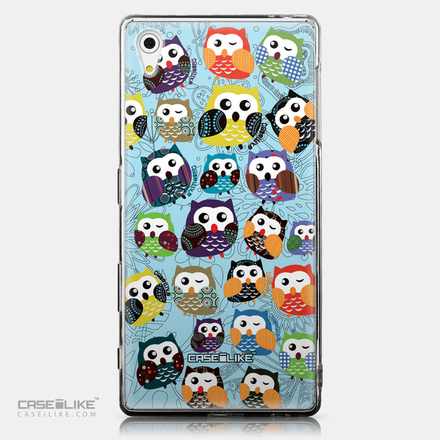 CASEiLIKE Sony Xperia Z5 back cover Owl Graphic Design 3312