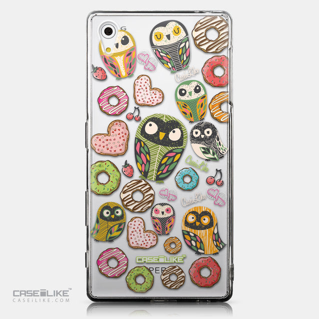 CASEiLIKE Sony Xperia Z5 back cover Owl Graphic Design 3315