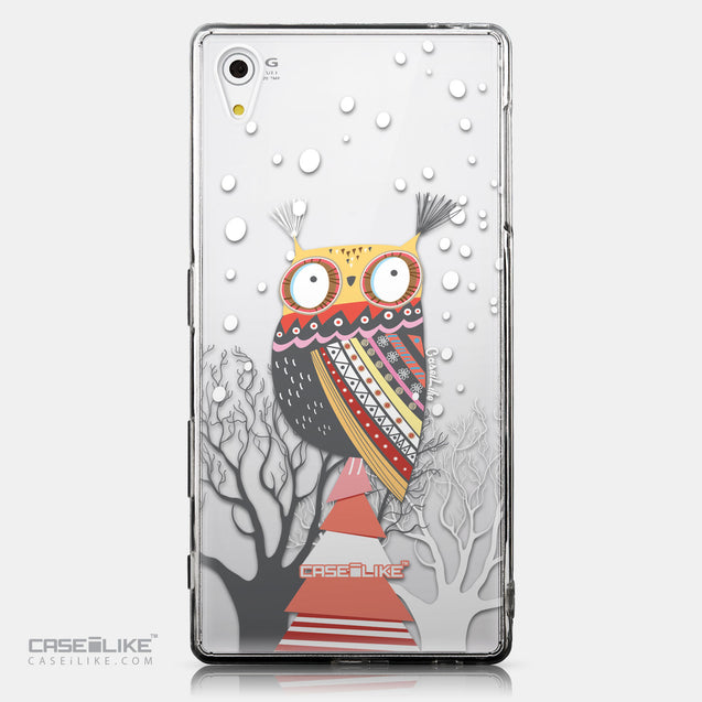 CASEiLIKE Sony Xperia Z5 back cover Owl Graphic Design 3317