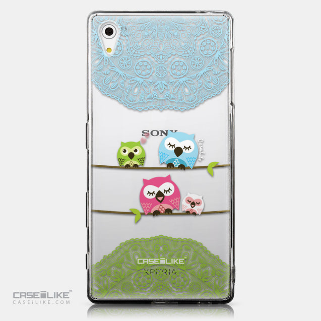 CASEiLIKE Sony Xperia Z5 back cover Owl Graphic Design 3318