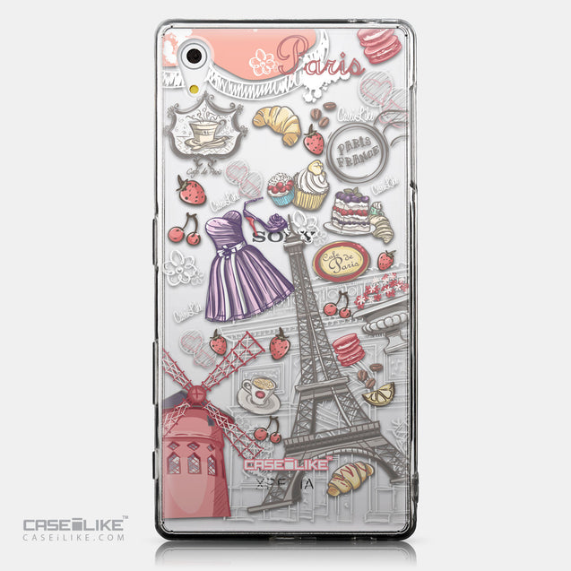 CASEiLIKE Sony Xperia Z5 back cover Paris Holiday 3907