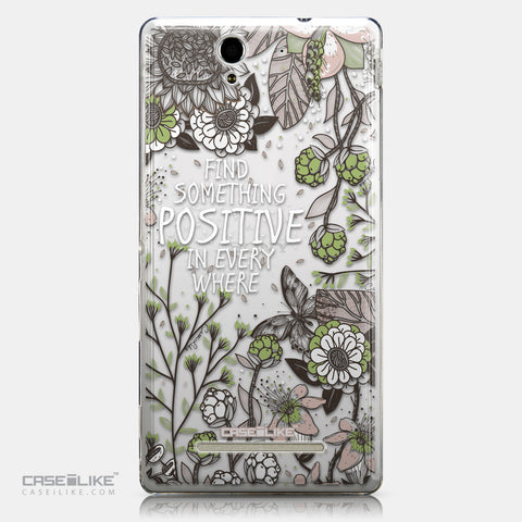 CASEiLIKE Sony Xperia C3 back cover Blooming Flowers 2250