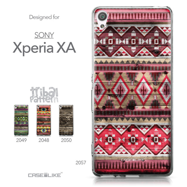 Sony Xperia XA case Indian Tribal Theme Pattern 2057 Collection | CASEiLIKE.com