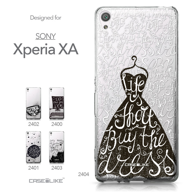 Sony Xperia XA case Quote 2404 Collection | CASEiLIKE.com