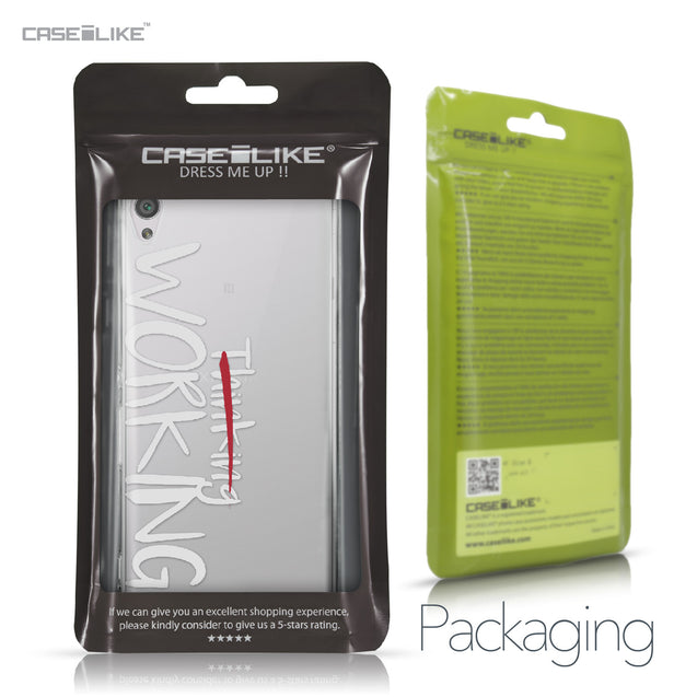 Sony Xperia XA case Quote 2411 Retail Packaging | CASEiLIKE.com