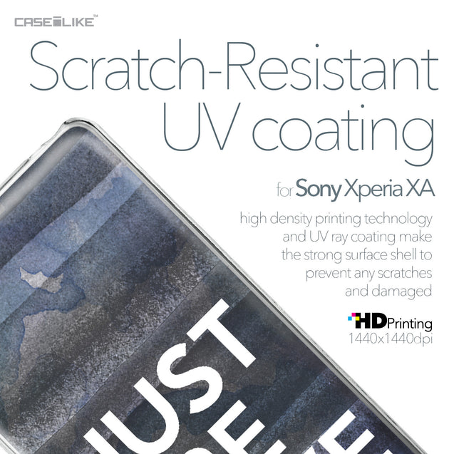Sony Xperia XA case Quote 2430 with UV-Coating Scratch-Resistant Case | CASEiLIKE.com