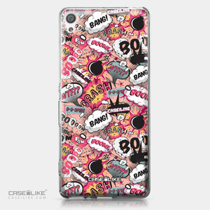 Sony Xperia XA case Comic Captions Pink 2912 | CASEiLIKE.com