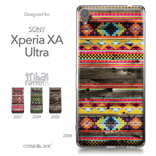 Sony Xperia XA Ultra case Indian Tribal Theme Pattern 2048 Collection | CASEiLIKE.com