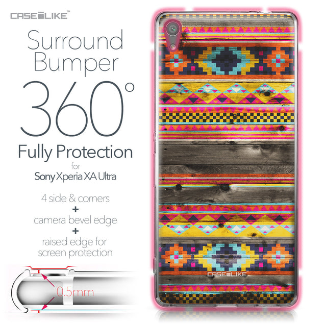 Sony Xperia XA Ultra case Indian Tribal Theme Pattern 2048 Bumper Case Protection | CASEiLIKE.com