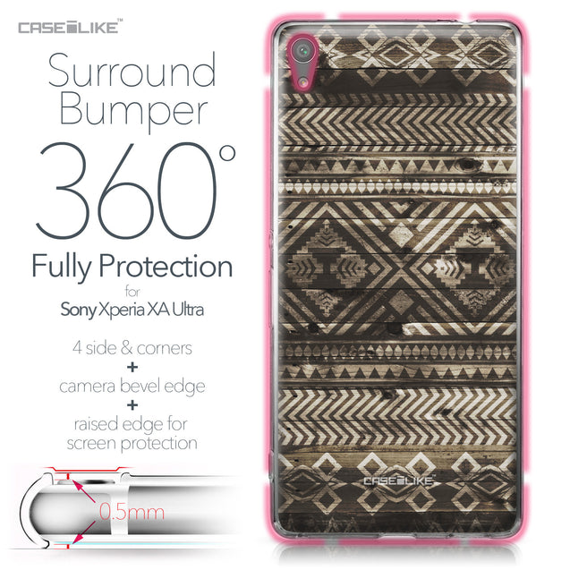 Sony Xperia XA Ultra case Indian Tribal Theme Pattern 2050 Bumper Case Protection | CASEiLIKE.com