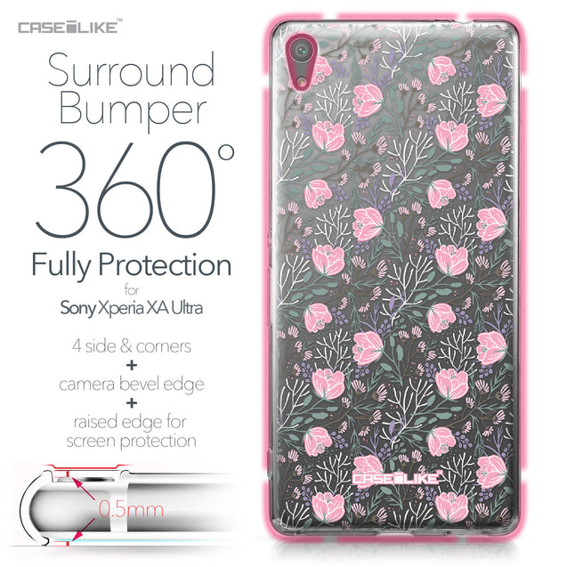 Sony Xperia XA Ultra case Flowers Herbs 2246 Bumper Case Protection | CASEiLIKE.com