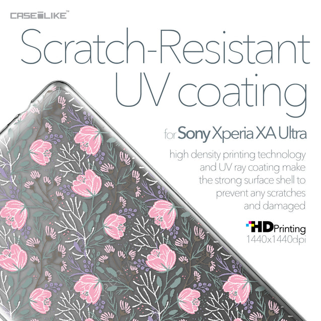 Sony Xperia XA Ultra case Flowers Herbs 2246 with UV-Coating Scratch-Resistant Case | CASEiLIKE.com
