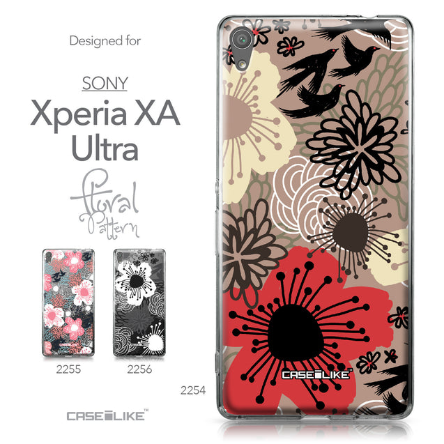 Sony Xperia XA Ultra case Japanese Floral 2254 Collection | CASEiLIKE.com