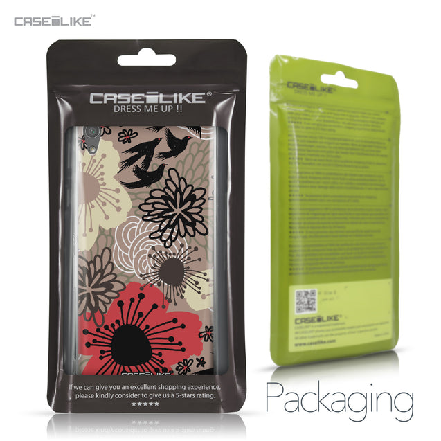 Sony Xperia XA Ultra case Japanese Floral 2254 Retail Packaging | CASEiLIKE.com