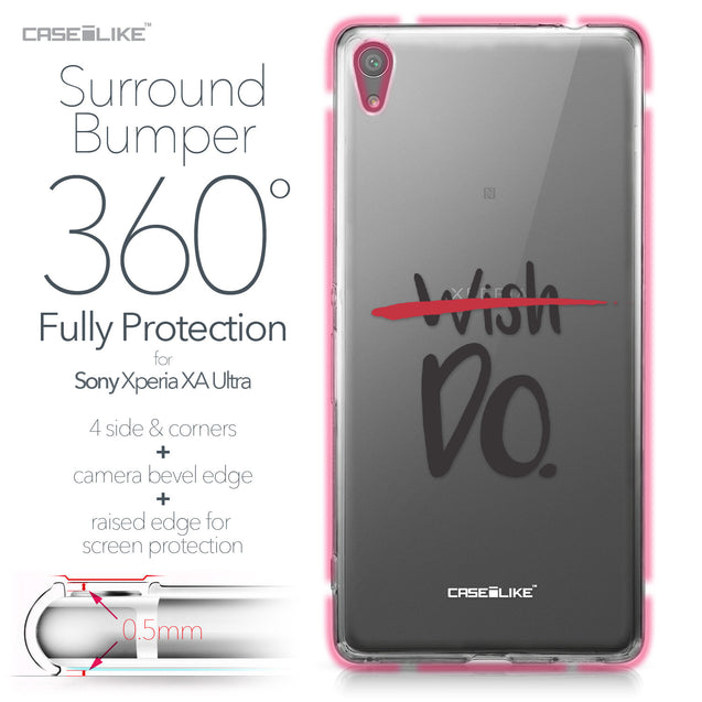 Sony Xperia XA Ultra case Quote 2407 Bumper Case Protection | CASEiLIKE.com