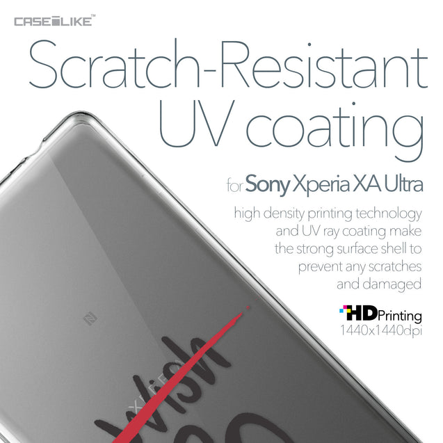 Sony Xperia XA Ultra case Quote 2407 with UV-Coating Scratch-Resistant Case | CASEiLIKE.com
