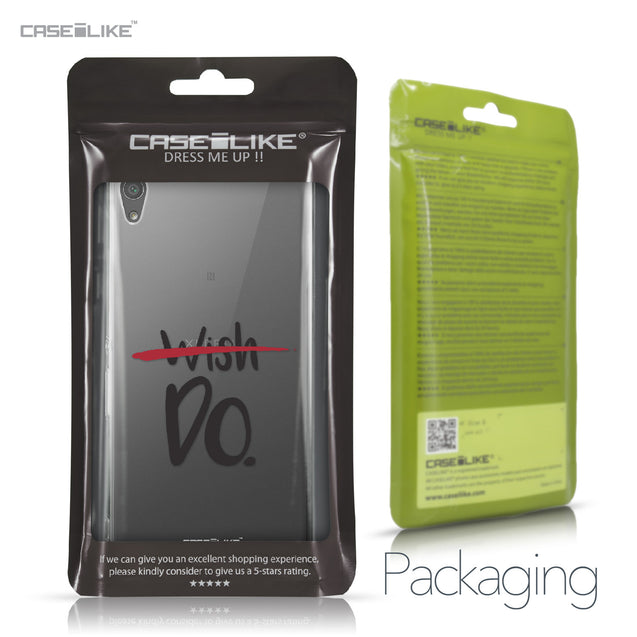Sony Xperia XA Ultra case Quote 2407 Retail Packaging | CASEiLIKE.com
