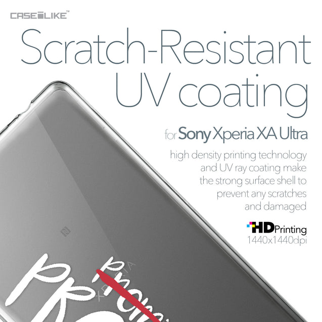 Sony Xperia XA Ultra case Quote 2409 with UV-Coating Scratch-Resistant Case | CASEiLIKE.com