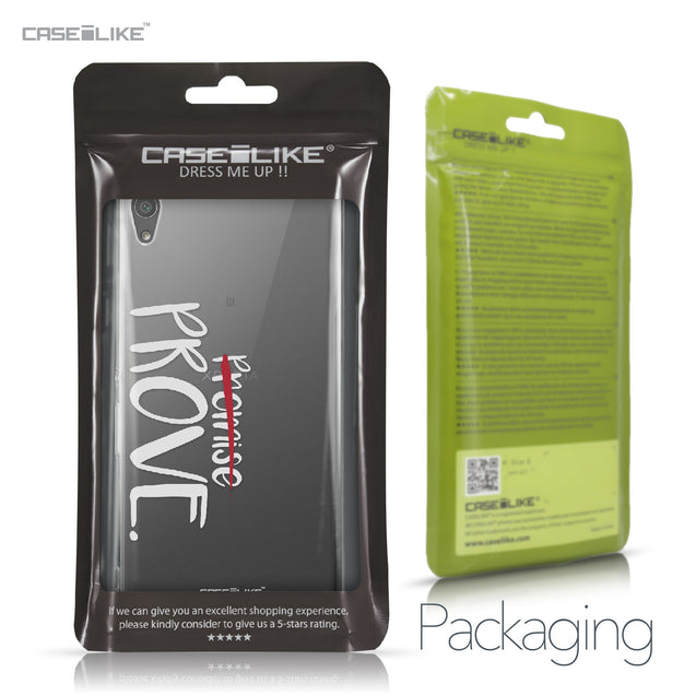 Sony Xperia XA Ultra case Quote 2409 Retail Packaging | CASEiLIKE.com