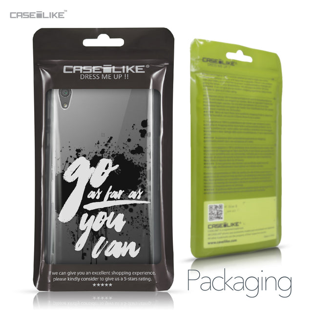 Sony Xperia XA Ultra case Quote 2415 Retail Packaging | CASEiLIKE.com