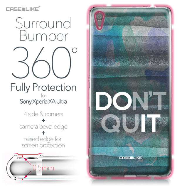 Sony Xperia XA Ultra case Quote 2431 Bumper Case Protection | CASEiLIKE.com