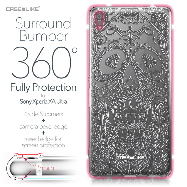 Sony Xperia XA Ultra case Art of Skull 2524 Bumper Case Protection | CASEiLIKE.com