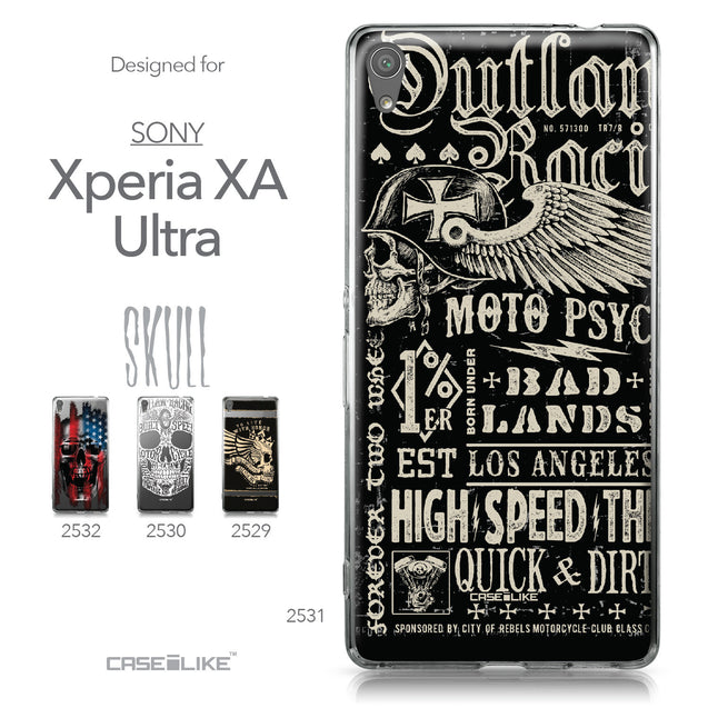 Sony Xperia XA Ultra case Art of Skull 2531 Collection | CASEiLIKE.com