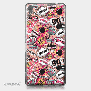 Sony Xperia XA Ultra case Comic Captions Pink 2912 | CASEiLIKE.com