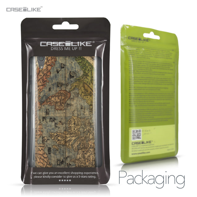 Sony Xperia XA Ultra case World Map Vintage 4608 Retail Packaging | CASEiLIKE.com