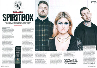 Spiritbox in latest issue of Metal Hammer