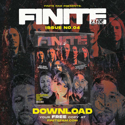 Spiritbox Cover Issue of Finite