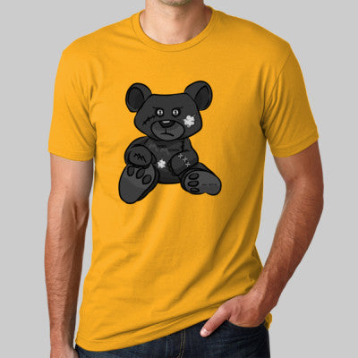 Gold Tee with Black MM Bear