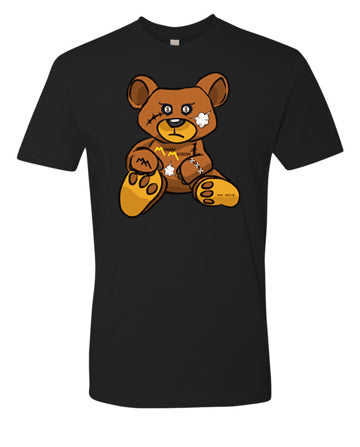 Black MM Teddy Logo Tee