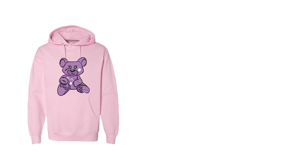Pink/Purple MM Bear Hoodie
