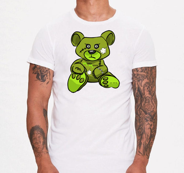 Green MM Teddy