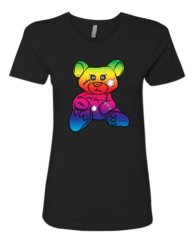 MM Rainbow Teddy Tee