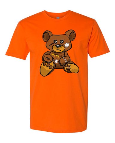 Orange Teddy Tee