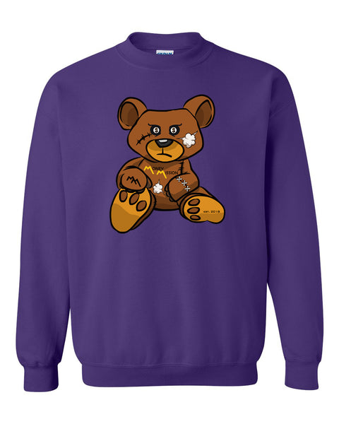 Purple Blush Teddy