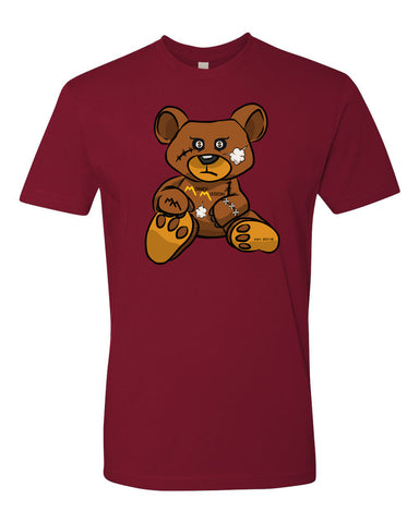 Burgundy Teddy Tee