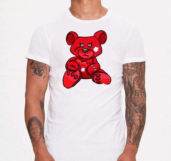 Red MM Teddy Tee