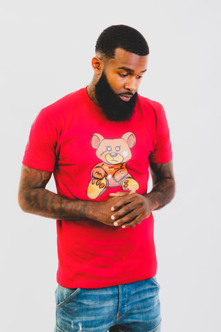 Red Fire Teddy Tee