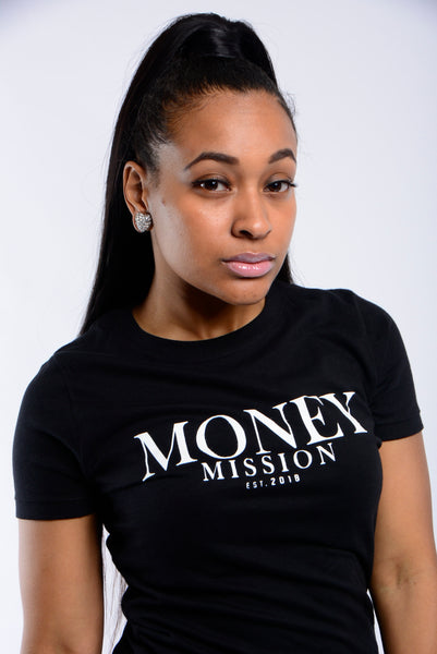 Black Money Mission Logo Tee
