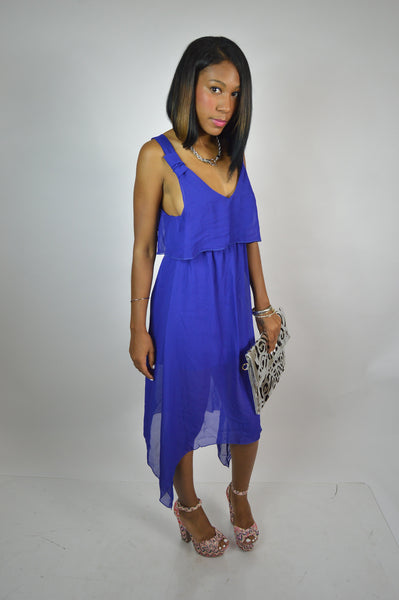 Royal Blue Day Dress