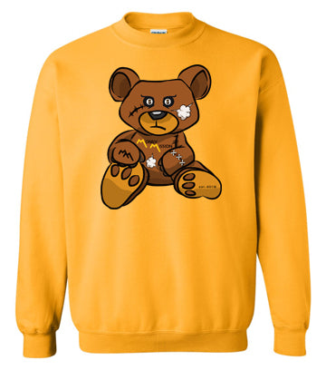 Gold Teddy Sweatshirt