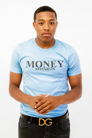 Light Blue MM Logo Tee