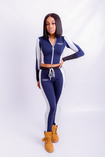 Paris MM Two-Piece Navy